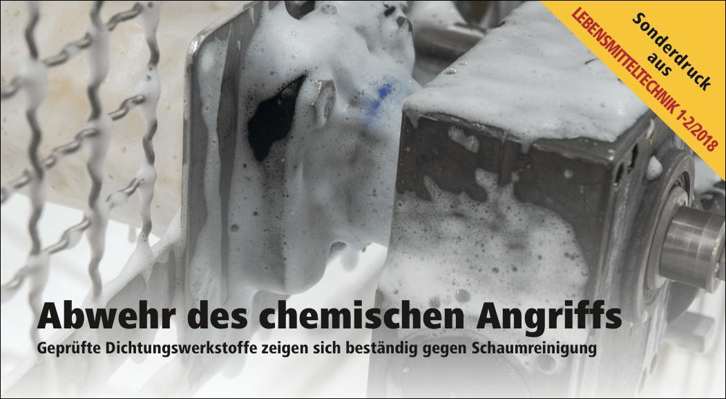 Abwehr des chemischen Angriffs