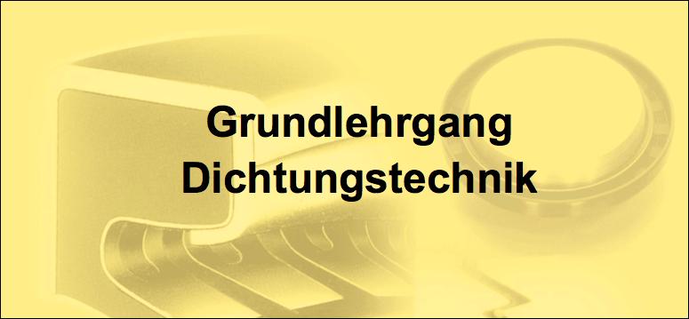 Grundlehrgang Dichtungstechnik