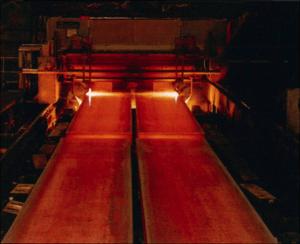 Probleme mit den Rollgangsrollen beeinträchtigten immer wieder mal die Stahlproduktion im Werk Granite City Works von U.S. Steel (Bilder: U.S. Steel)
